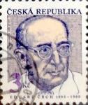 Stamps : Europe : Czech_Republic :  Intercambio crxf 0,20 usd 3 koruna 1993