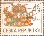 Stamps : Europe : Czech_Republic :  Intercambio crxf 0,20 usd 4 koruna 1998