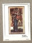 Stamps Poland -  Cuadros religiosos