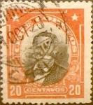 Sellos de America - Chile -  Intercambio 0,20 usd 20 cents. 1915
