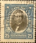 Sellos del Mundo : America : Chile : Intercambio 0,20 usd 25 cents. 1929