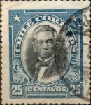 Sellos del Mundo : America : Chile : Intercambio 0,20 usd 25 cents. 1915