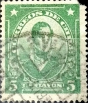 Sellos del Mundo : America : Chile : Intercambio 0,20 usd 5 cents. 1929