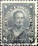 Stamps : America : Chile :  Intercambio 0,20 usd 8 cents. 1912
