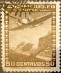 Stamps : America : Chile :  Intercambio 0,20 usd 50 cents. 1936