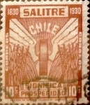 Stamps : America : Chile :   Intercambio 0,30 usd 10 cents. 1930