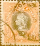 Stamps : America : Chile :  50 cent. 1901
