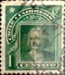 Stamps : America : Chile :  Intercambio 0,20 usd 1 cent. 1905
