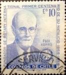 Sellos de America - Chile -  Intercambio 0,25 usd 10 escudos 1970