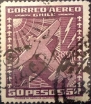 Sellos de America - Chile -  Intercambio 0,60 usd 50 pesos 1934