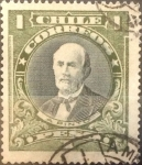 Sellos de America - Chile -  Intercambio 0,20 usd 1 peso 1915