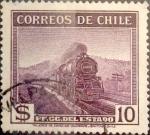 Sellos de America - Chile -  Intercambio 0,20 usd 10 pesos 1938