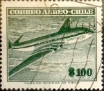Sellos de America - Chile -  Intercambio 0,20 usd 100 pesos 1955
