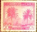 Sellos de America - Chile -  Intercambio 0,25 usd 20 cents. 1936