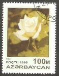 Stamps : Asia : Azerbaijan :  Flor