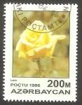 Sellos de Asia - Azerbaiyán -  Flor