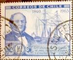 Sellos de America - Chile -  Intercambio 0,20 usd 10 cents. 1966