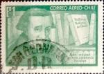 Stamps Chile -  Intercambio 0,20 usd 1 escudo 1968