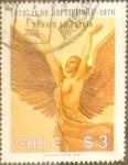 Stamps Chile -  Intercambio 0,20 usd 3 pesos 1976