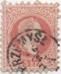 Stamps : Europe : Austria :  Y & T Nº 34 a I