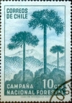 Stamps : America : Chile :  10 cents. 1967