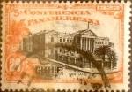 Stamps : America : Chile :  Intercambio 0,25 usd 20 cents. 1923