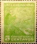 Sellos de America - Chile -  Intercambio 0,25 usd 5 cents. 1931