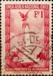 Sellos de America - Chile -  Intercambio 0,20 usd 1 escudos 1965