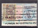 Sellos de Europa - España -  milenario consagración tercera basilica mº de ripoll