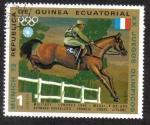 Stamps Equatorial Guinea -  Summer Olympics 1972, Munich Jinetes
