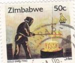 Sellos del Mundo : Africa : Zimbabwe :  TECNICAS PARA EXCAVACIÓN