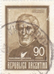 Stamps Argentina -  GUILLERMO BROWN