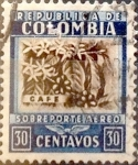 Stamps Colombia -  Intercambio 0,20 usd 30 cents. 1932
