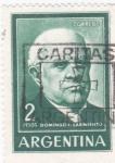 Stamps Argentina -  DOMINGO SARMIENTOS