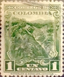 Stamps Colombia -  Intercambio 0,20 usd 1 cents. 1932