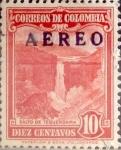 Stamps : America : Colombia :  Intercambio 0,20 usd 10 cents. 1948