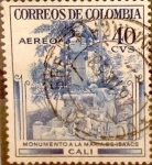 Sellos del Mundo : America : Colombia : Intercambio 0,20 usd 40 cents. 1954