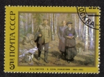 Stamps Russia -  Birthday (N.A. Sysoev)