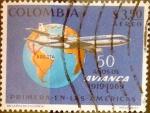 Sellos de America - Colombia -  Intercambio 0,50 usd 3,50 pesos 1969