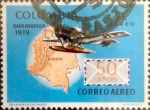 Stamps : America : Colombia :  Intercambio 0,20 usd 1 peso 1969