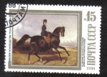 Stamps Russia -  Cuadro del pintor Sverchkov