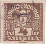Stamps Austria -  Y & T Nº 37 - Timbre