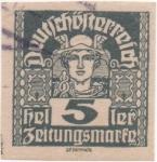 Sellos de Europa - Austria -  Y & T Nº 38 - Timbre