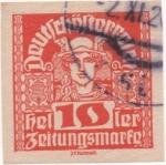 Sellos de Europa - Austria -  Y & T Nº 42 - Timbre