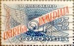 Stamps : America : Colombia :  Intercambio 0,20 usd 25 cents. 1959
