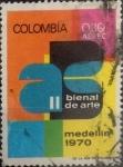 Stamps : America : Colombia :  Intercambio 0,20 usd 0,30 pesos 1970