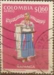 Sellos de America - Colombia -  Intercambio 0,20 usd 0,60 pesos 1970