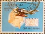Sellos de America - Colombia -  Intercambio 0,20 usd 1 peso 1969
