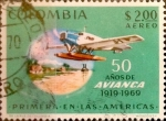 Sellos de America - Colombia -  Intercambio 0,25 usd 2 peso 1969