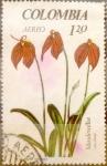 Stamps : America : Colombia :  Intercambio 0,20 usd 1,20 pesos 1967